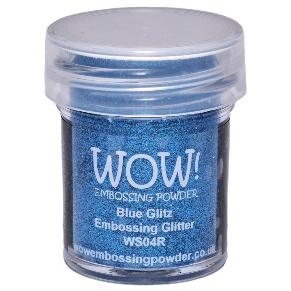 WOW Embossing Glitter BLUE GLITZ WS04R zoom image
