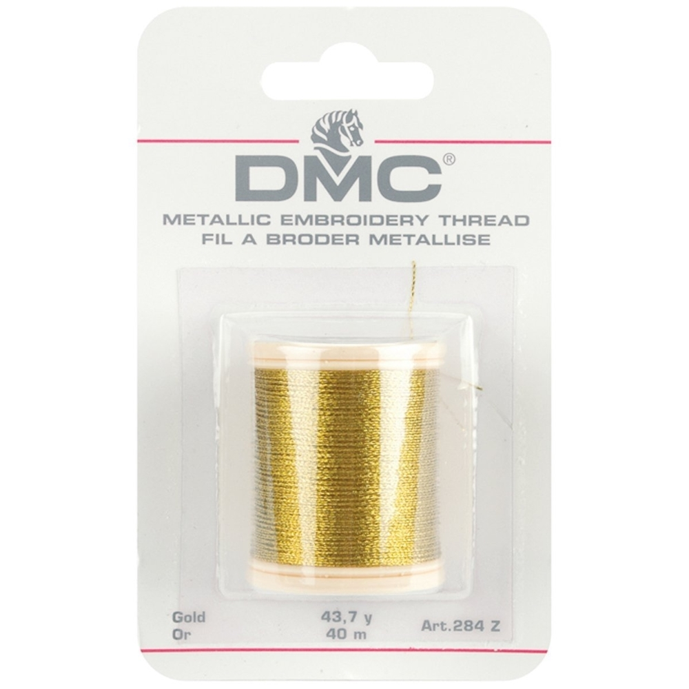 DMC Metallic GOLD Embroidery Thread 284ZA zoom image
