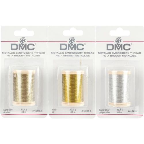 DMC Metallic COMBO PACK OF 3 Embroidery Thread DMC3PACK Preview Image