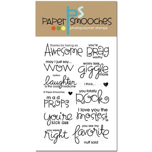 Paper Smooches UPLIFTERS Clear Stamps OCS224 Preview Image