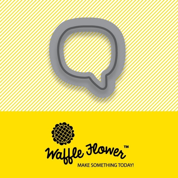 Waffle Flower TINY SPEECH BUBBLE Die Set 310016 zoom image