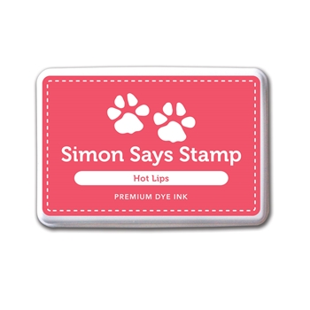 Simon Says Stamp Premium Dye Ink HOT LIPS ink033