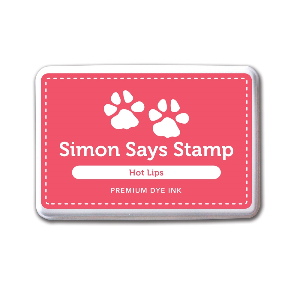 Simon Says Stamp Premium Dye Ink HOT LIPS ink033 zoom image