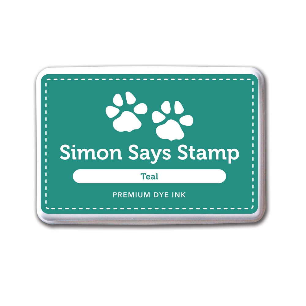 Simon Says Stamp Premium Dye Ink Pad TEAL INK034 zoom image