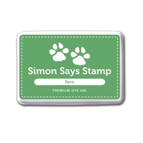Simon Says Stamp Premium Dye Ink Pad FERN Green INK036 Preview Image