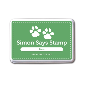 Simon Says Stamp Premium Dye Ink Pad FERN Green INK036