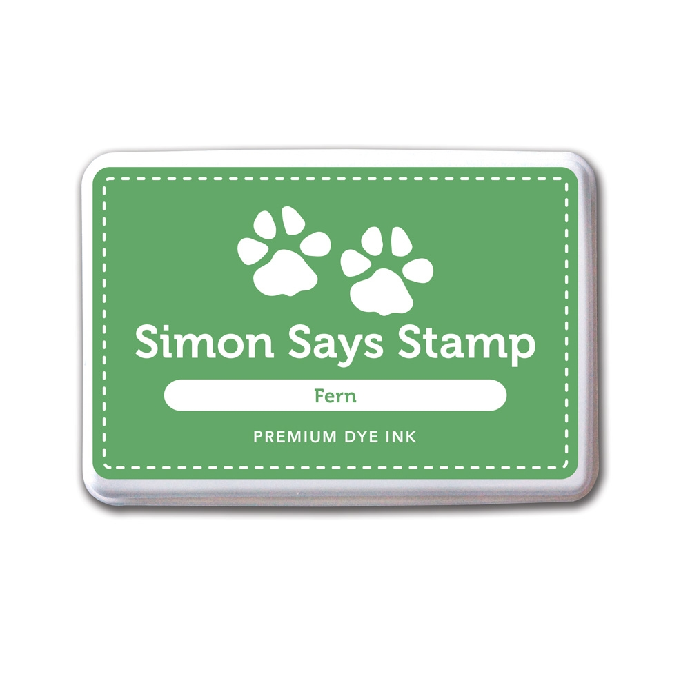 Simon Says Stamp Premium Dye Ink Pad FERN Green INK036 zoom image