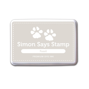 Simon Says Stamp Premium Dye Ink Pad FOSSIL ink037