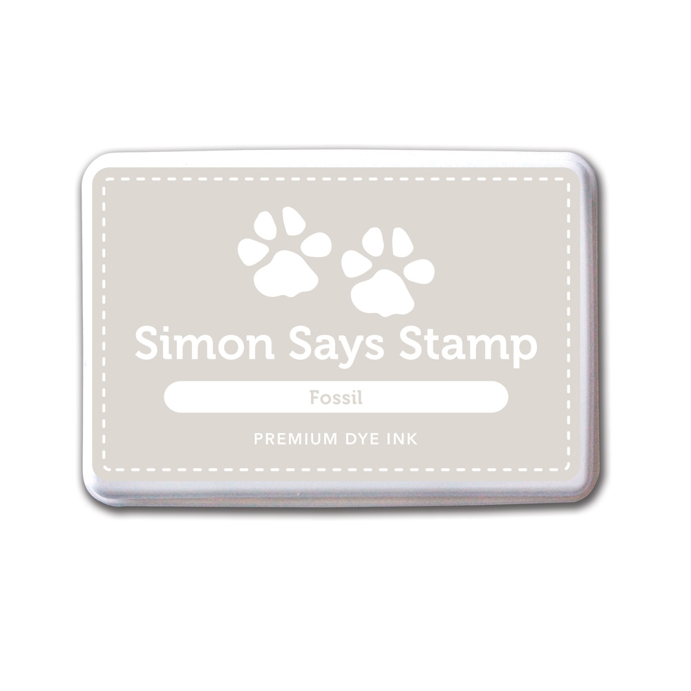 Simon Says Stamp Premium Dye Ink Pad FOSSIL ink037 zoom image