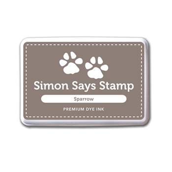 Simon Says Stamp Premium Dye Ink Pad SPARROW ink038