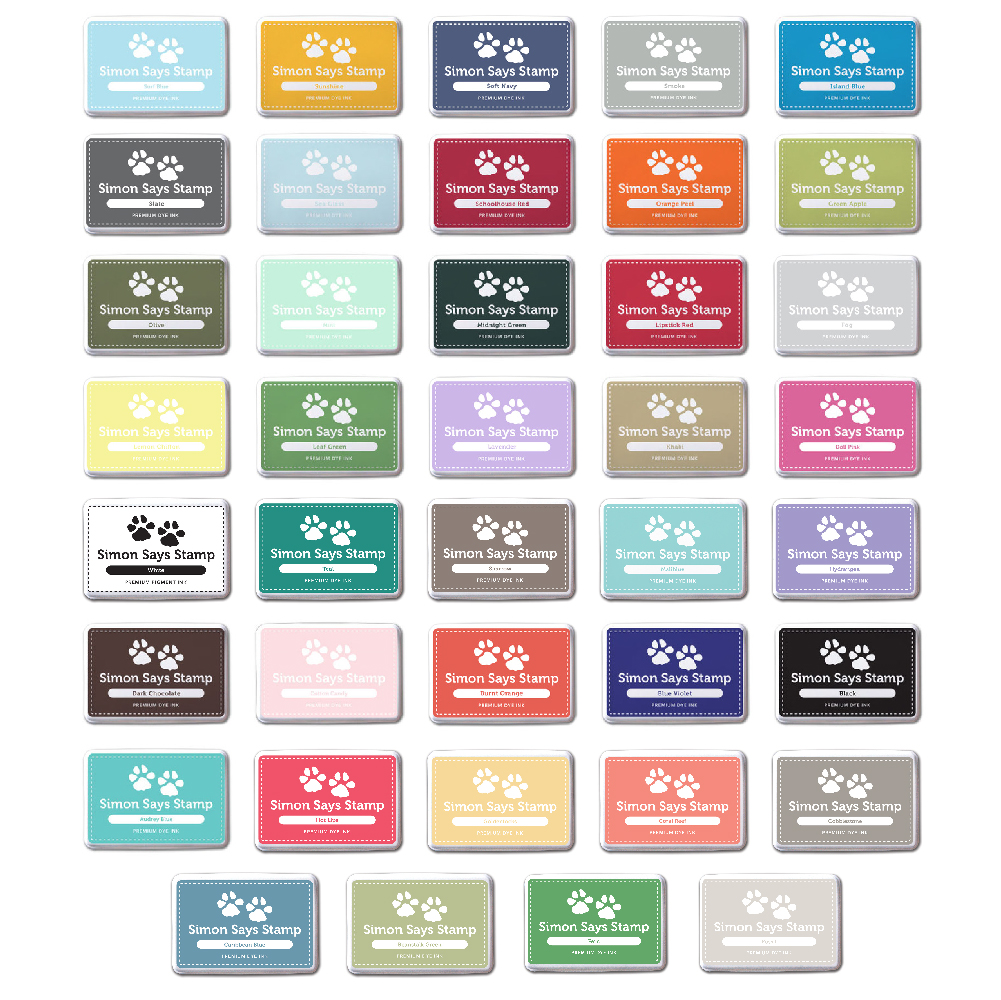 Simon Says Stamp Set of 39 INK PADS 39Pads Preview Image