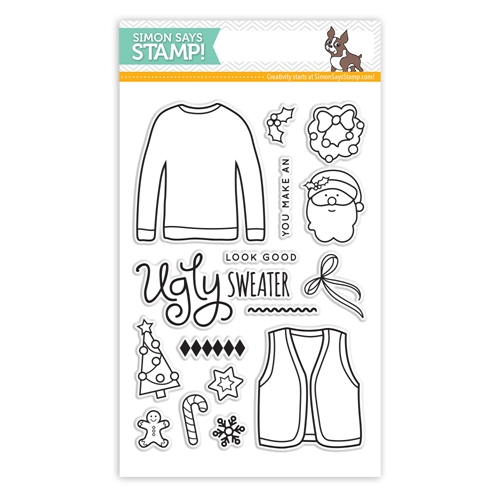 656c1d48fa22 Simon Says Clear Stamps UGLY SWEATER sss101465 at Simon Says STAMP!