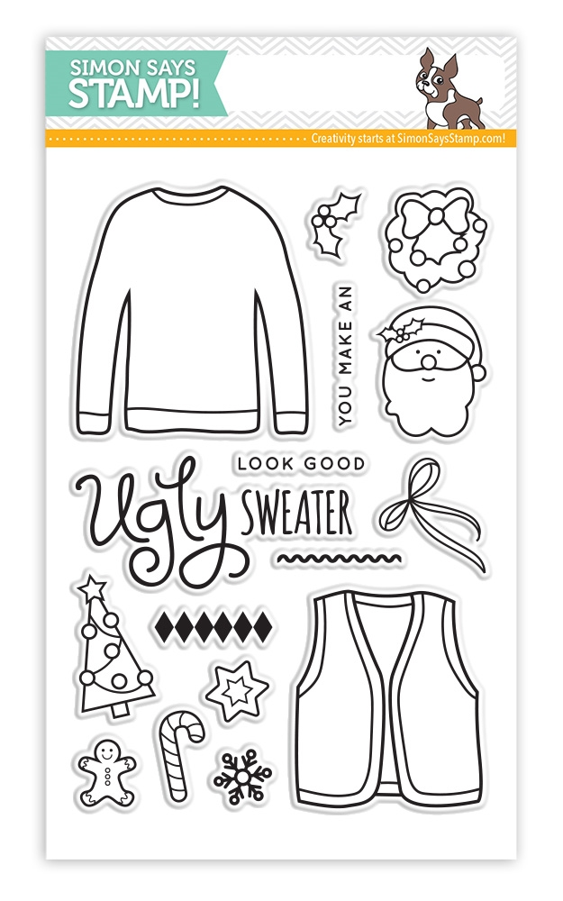 Simon Says Clear Stamps UGLY SWEATER sss101465 zoom image