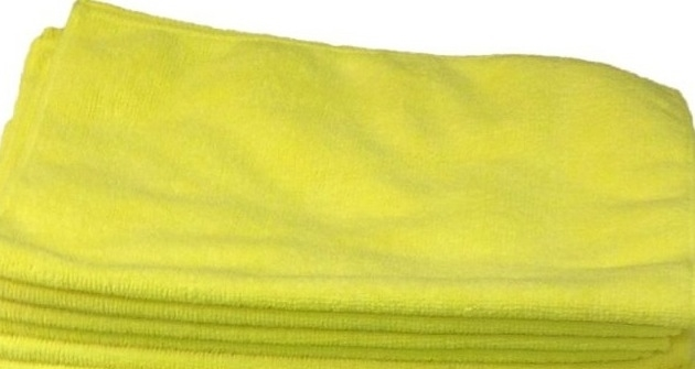 Microfiber YELLOW Cleaning Cloth 924YE zoom image