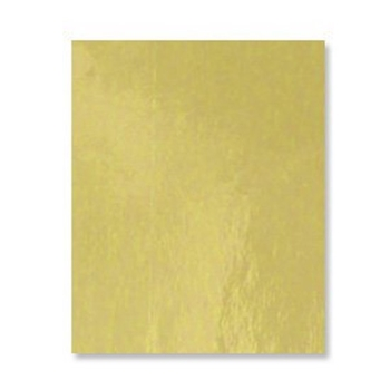 Bazzill GOLD Foil Heavy Weight 8.5 x 11 Cardstock 03154