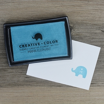 Mama Elephant Creative Color PACIFIC BLUE Ink Pad