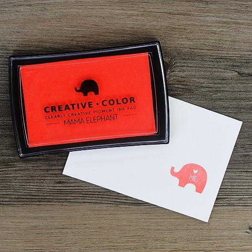 Mama Elephant Creative Color CORAL BURST Ink Pad Preview Image