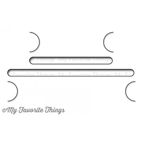 My Favorite Things GIFT CARD GROOVES Die-Namics MFT MFT540 Preview Image