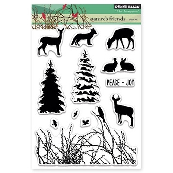 Penny Black Clear Stamps NATURE'S FRIENDS 30-261 zoom image