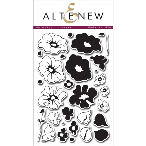 Altenew WHIMSICAL FLOWERS Clear Stamp Set ALT1011* Preview Image