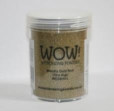 WOW Embossing Powder METALLIC GOLD RICH Ultra High Large Jar WC04UH-L* zoom image
