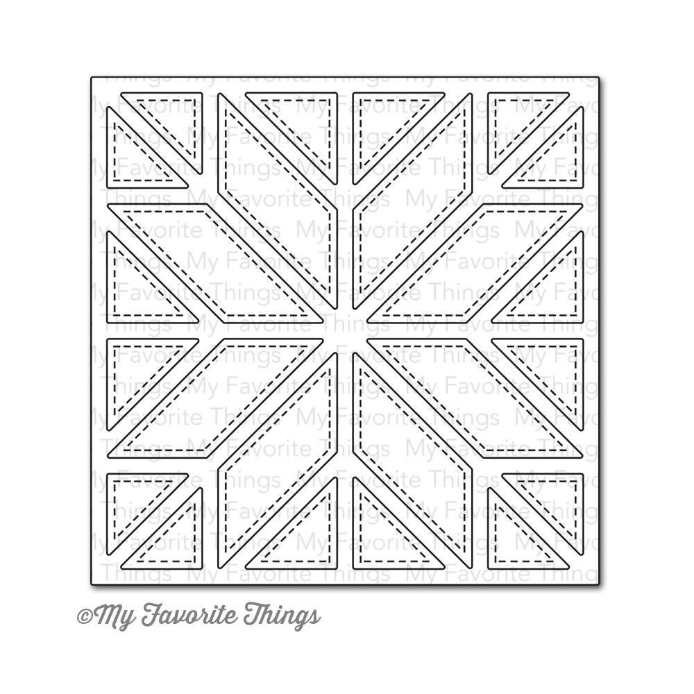 My Favorite Things QUILT SQUARE COVER UP Die-Namics MFT MFT556 zoom image