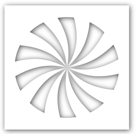 Simon Says Stamp Stencil CANDY SWIRL ssst121375 zoom image