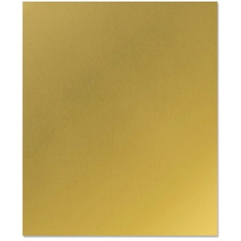 Bazzill GOLD METALLIC Heavy Weight 8.5 x 11 300291