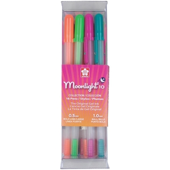 Sakura BOLD POINT Moonlight 16 Gelly Roll Pens Set 58178