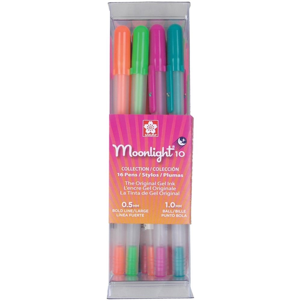 Sakura BOLD POINT Moonlight 16 Gelly Roll Pens Set 58178 zoom image