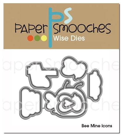 Paper Smooches BEE MINE ICONS Wise Dies DED185* zoom image