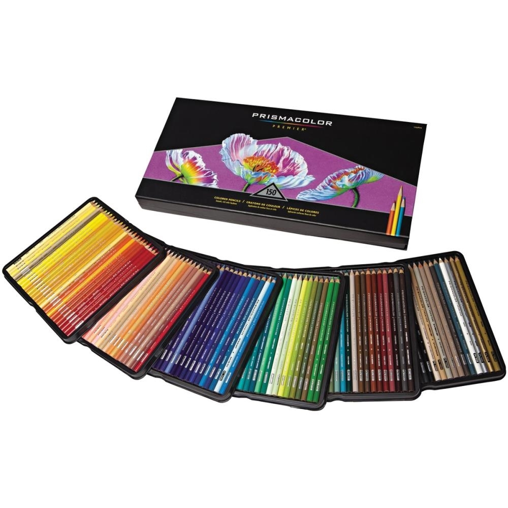 Prismacolor 150 PREMIER COLORED PENCILS Set 1799879* zoom image