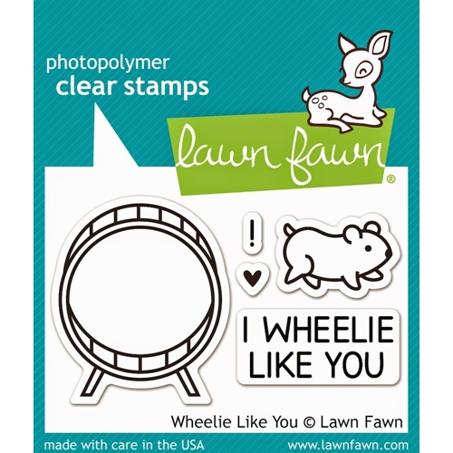 Lawn Fawn WHEELIE LIKE YOU Clear Stamps LF838 Preview Image