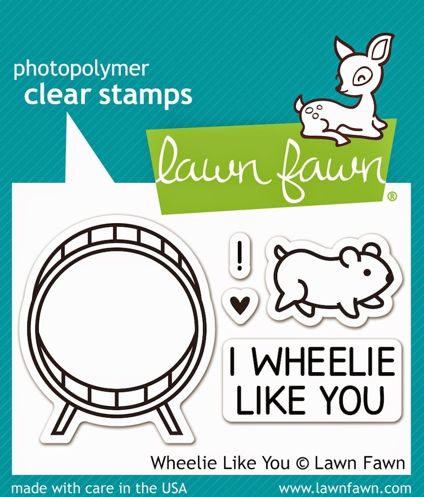 Lawn Fawn WHEELIE LIKE YOU Clear Stamps LF838 zoom image