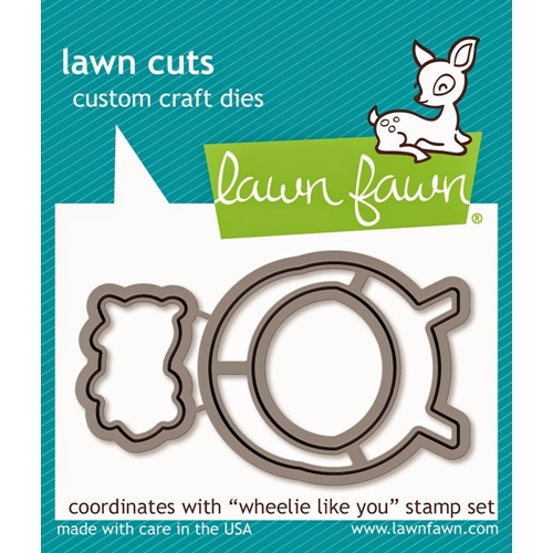 Lawn Fawn WHEELIE LIKE YOU Lawn Cuts Dies LF839 Preview Image