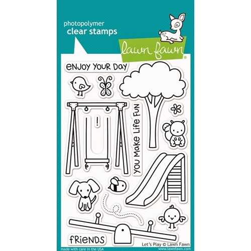 Lawn Fawn LET'S PLAY Clear Stamps LF848 Preview Image