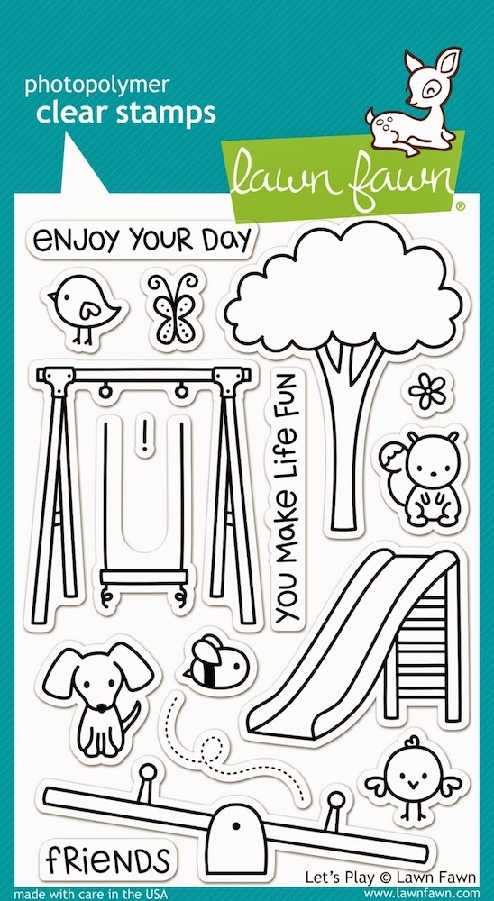 Lawn Fawn LET'S PLAY Clear Stamps LF848 zoom image