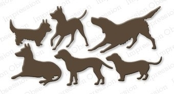 Impression Obsession Steel Die DOGS Set DIE170-R Preview Image