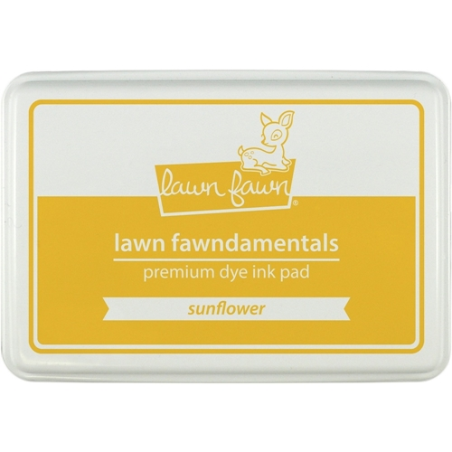 Lawn Fawn SUNFLOWER Premium Dye Ink Pad Fawndamentals LF862 Preview Image