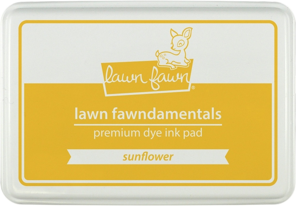 Lawn Fawn SUNFLOWER Premium Dye Ink Pad Fawndamentals LF862 zoom image