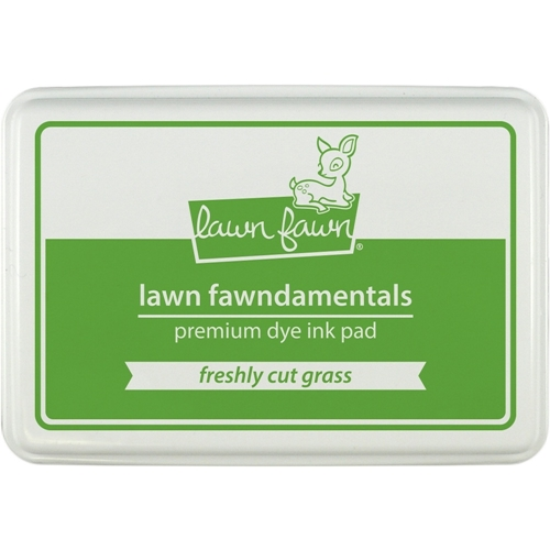 Lawn Fawn FRESHLY CUT GRASS Premium Dye Ink Pad Fawndamentals LF863 Preview Image