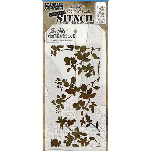Tim Holtz Layering Stencil BLOSSOM THS031 Preview Image