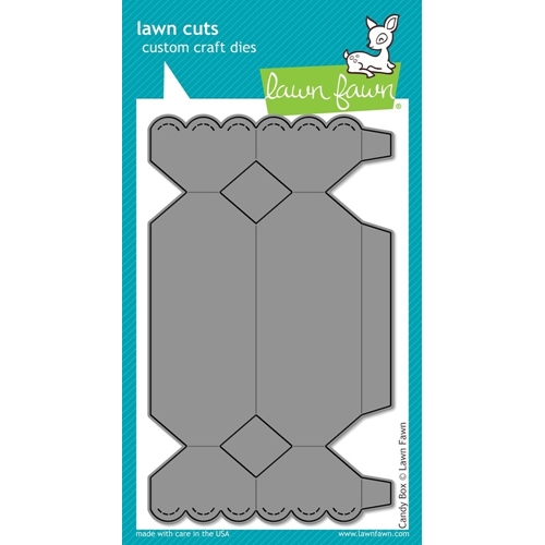 Lawn Fawn CANDY BOX Lawn Cuts Die LF857 Preview Image
