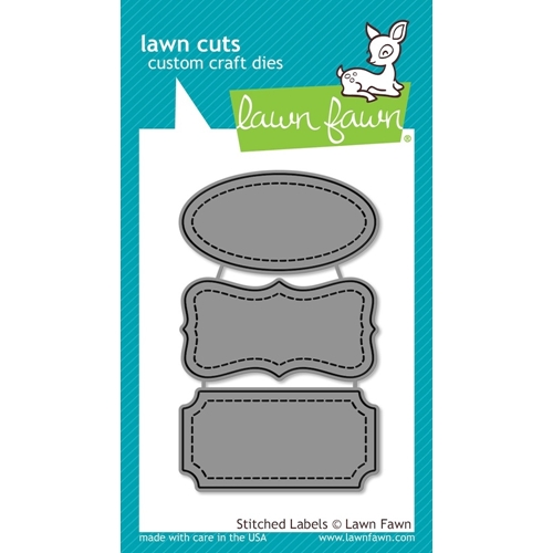 Lawn Fawn STITCHED LABELS Lawn Cuts Dies LF858 Preview Image