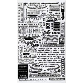 Tim Holtz Idea-ology Remnant Rubs  SPECIAL DELIVERY TH93188