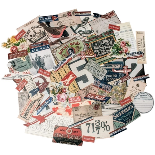 Tim Holtz Idea-ology Ephemera Pack  EMPORIUM TH93189 Preview Image