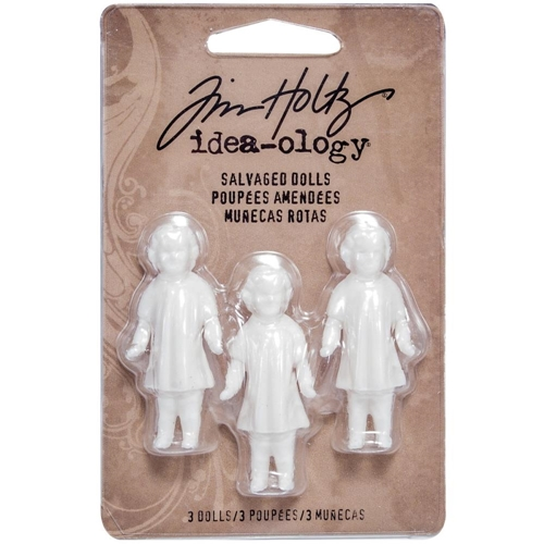 Tim Holtz Idea-ology SALVAGED DOLLS TH93196 Preview Image