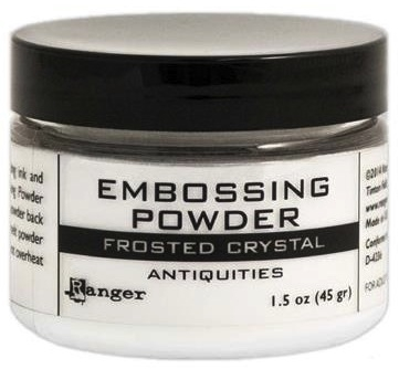 Ranger Embossing Powder FROSTED CRYSTAL 1.5 Oz Jar EPL44963 Preview Image