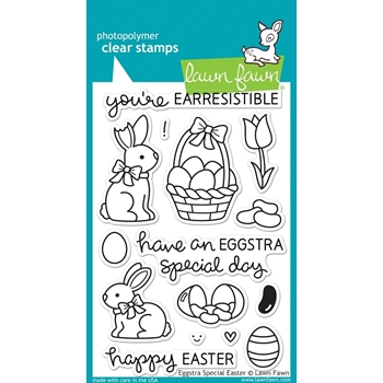 Lawn Fawn EGGSTRA SPECIAL EASTER Clear Stamps LF840