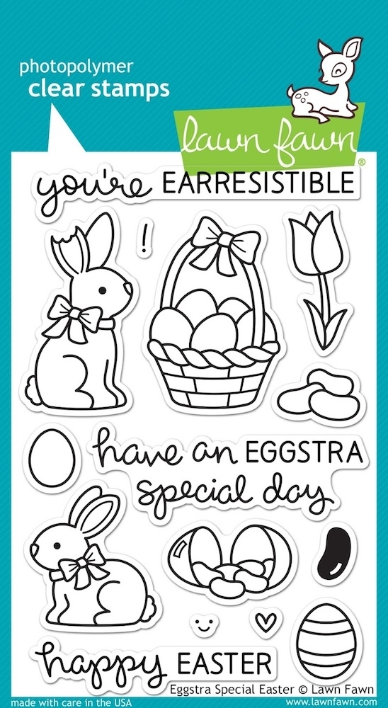Lawn Fawn EGGSTRA SPECIAL EASTER Clear Stamps LF840 zoom image